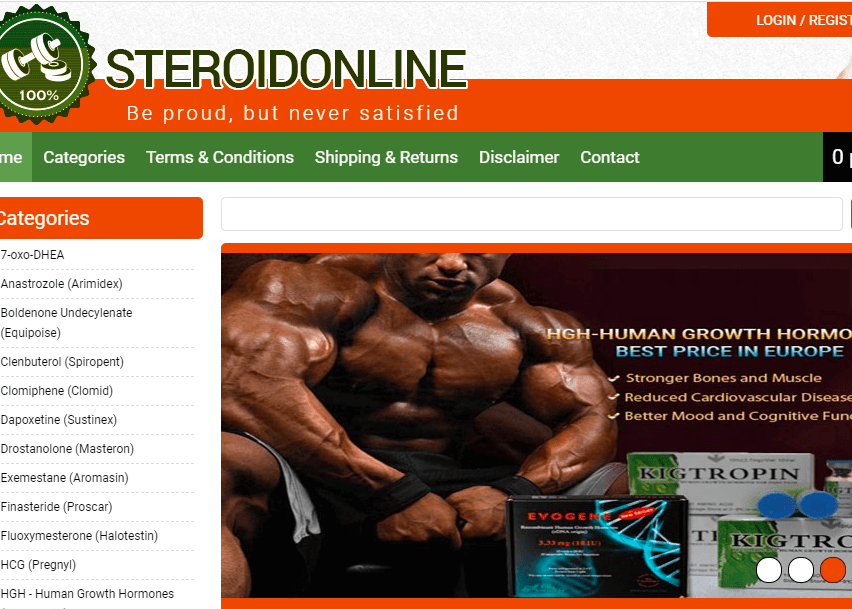 Steroidy Online